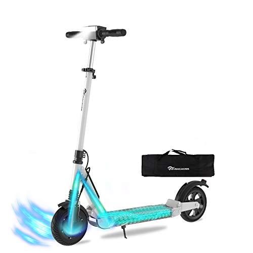 HITWAY Trottinette Scooter électrique Pliable Batterie E-Scooter Pliable 7.5Ah | 350 Watts | 30 km h | pour Adolescents et Adultes