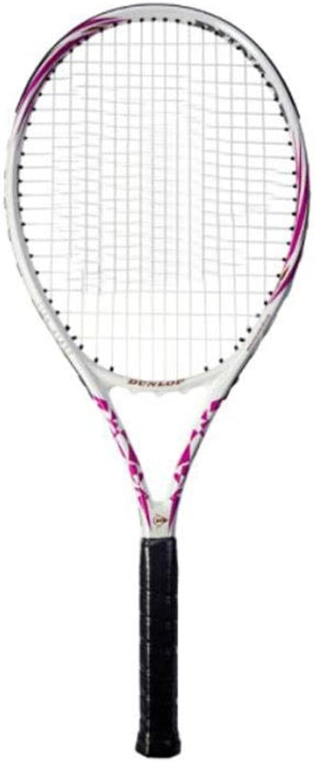 Tennis Racket, Suitable for Outdoor Sports and Fitness Tennis Racket Suit, White Purple Carbon Composite Beginner Training Unisex Tennis Racket Equipment