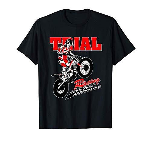 Trial motociclistico Trial Rider Moto Trial Maglietta