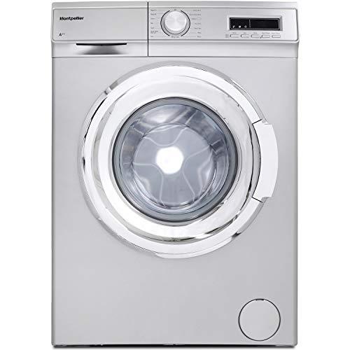 Montpellier MW7140S 7kg 1400rpm Freestanding Washing Machine - Silver
