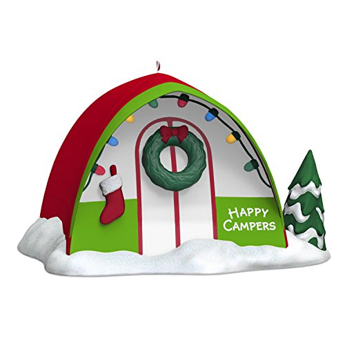 Hallmark Keepsake 2017 Happy Campers Christmas Ornament