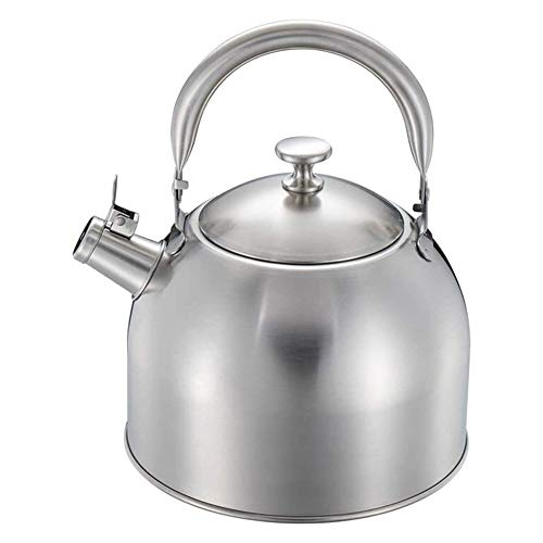 ZWJ-Electric Kettle Pot For Stove Top Stainless Steel Hot Water Kettle Tea Kettle Best Induction Modern Stainless Steel Surgical Whistling Teapot (Size : 3.5l)