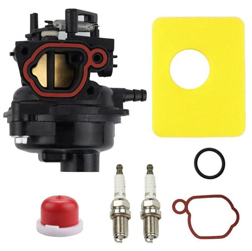 Carburetor Carb Replacement For Troy Bilt TB110 Lawn Mower with a Briggs and Stratton 140cc 550EX, Troy-Bilt TB280 ES 163-cc 21-in Self-propelled Gas Lawn Mower, Troy Bilt TB230 12AVB2A3766 Lawn Mower