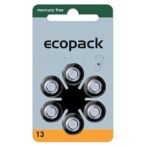 60 Hörgerätebatterien Typ 13 Varta Ecopack Hörgerätebatterie