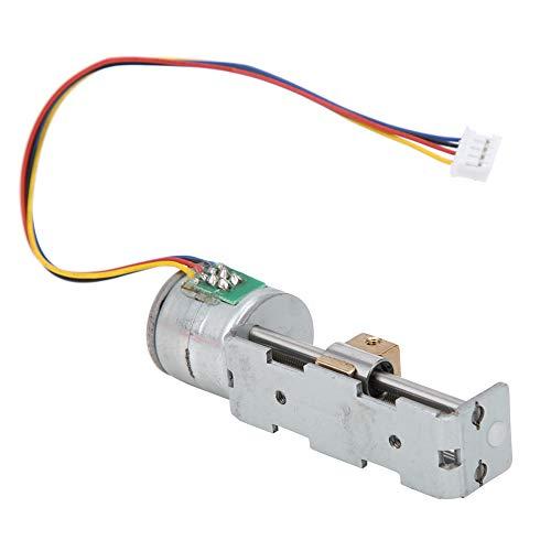 Mini actuador de etapa lineal, deslizador de tuerca de tornillo Motor paso a paso lineal de 2 fases y 4 cables, motor paso a paso con reductor de caja de cambios planetaria para
