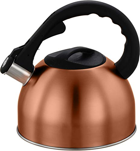 2 Liter Stainless Steel Whistling Tea Kettle...