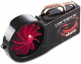 Akasa VORTEXX VGA Cooler Graphics Card - Ventilador de PC (Graphics Card, Aluminio y Cobre, 2,88 W, 0,24 A, 266 g, 97 x 98 x 74 mm)