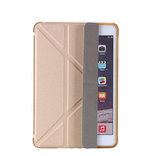 Case for Apple Ipad10.2 2019 7th /11'/ pro10.5/7.9' 9.7' 5th 6th Protective Cover Ultra Thin Leather for ipad Air 1/2 9.7case,Gold,9.7 2017 5th2018 6th
