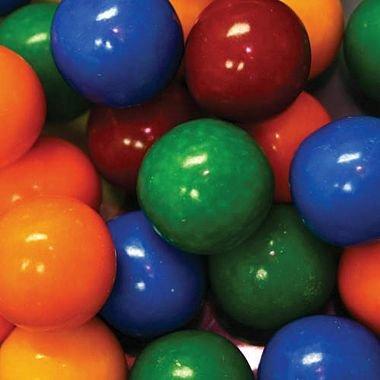 Dubble Bubble Cry Baby Sour Guts 24mm Gumballs 1 Inch, 3 Pounds Approximately 150 Gum Balls.