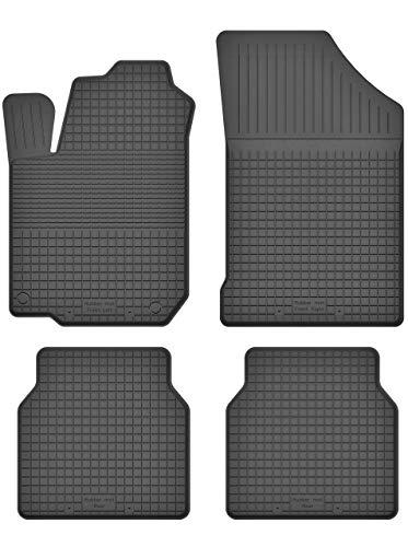 KO-RUBBERMAT Gummimatten Fußmatten 1.5 cm Rand geeignet zur VW Golf II III (Bj. 1982-1998) ideal angepasst 4 -Teile EIN Set