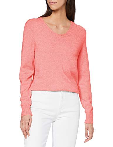 Street One Damen 301356 Pullover, Sugar pink Melange, 38