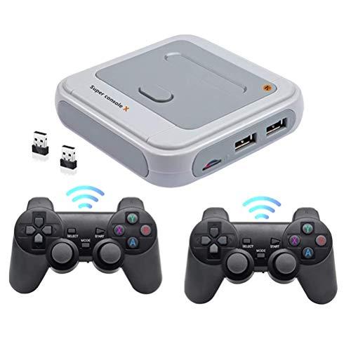 YEKKU R8 Consola de juegos retro inalámbrica incorporada Consola de juegos clásica Consola inalámbrica portátil Familia partido...