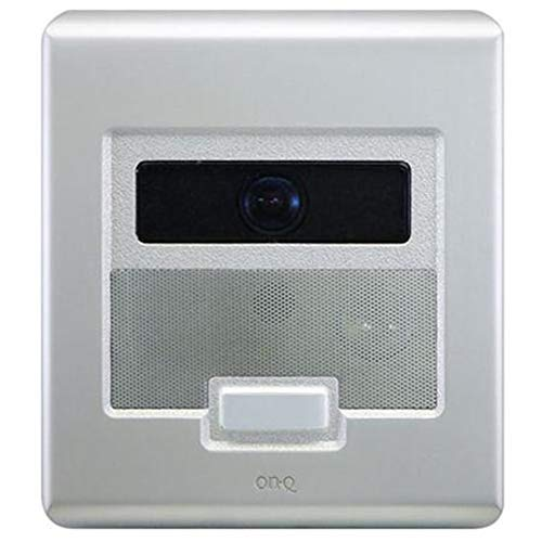 ON-Q Selective Call Intercom - Outdoor Station Selective Call Video Door Unit Brushed Stainless (IC5003-BS)