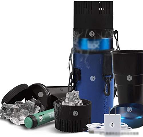 GAONAN Termostato portátil refrigerador del coche Refrigerador Refrigerador insulina Refrigerador Caja compacto, silencioso portátil conveniente for Medicamentos/familia/Viajes mini neveras Enfria