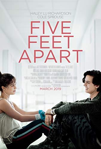 newhorizon Five Feet Apart Movie Poster 17'' x 25'' NOT A DVD