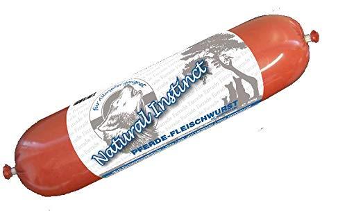 Farrado Monoprotein Hundewurst Pferd pur 6x800 gr, glutenfrei