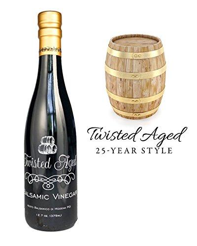 Twisted Olive Imports, Vinegar Aged Balsamic 25 Year, 12.68 Fl Oz