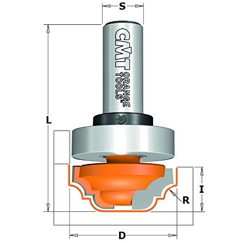 CMT Orange Tools 911,570,11 Fraise droite hm s 12 d 7 x 19
