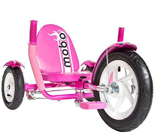 Mobo Cruiser Mity Sport Safe Tricycle. Toddler Big Wheel Ride On Trike. Pedal Car, Pink