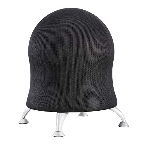 Safco Products Zenergy Ball Chair, Black, Low...