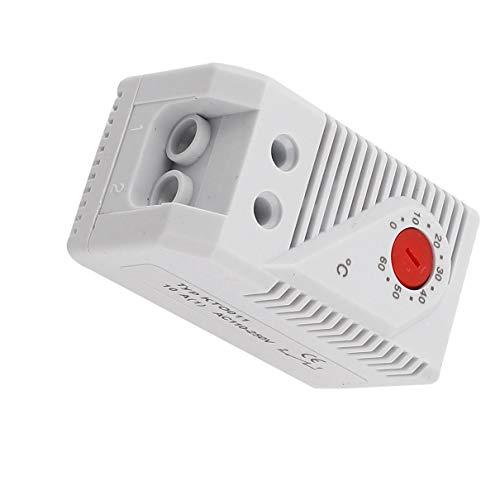 Aexit KTO011 0-60 Baumarkt Celsius Grad Bimetall Bimetallschalter Elektroinstallation Thermostat Temperaturregler