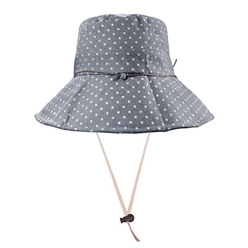 AfinderDE Damenhut Fischerhut Fischermütze Mütze Sonnenhut Strandhut Sommerhut Sommer Frauen Anti-UV Hut