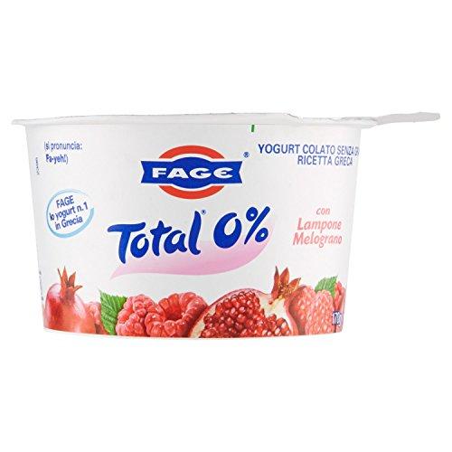 Fage Total 0% Yogurt con Lampone e Melograno, 170g
