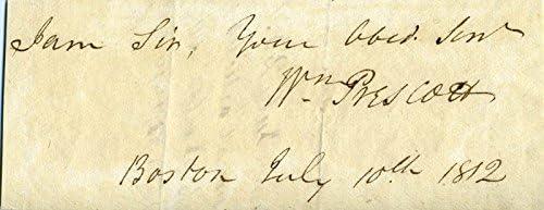 William H Prescott - Clipped Sale price 10 1812 07 Signature Max 42% OFF