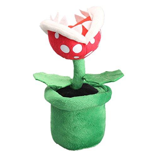 uiuoutoy Super Mario Bros. Piranha Plant Plush 7''