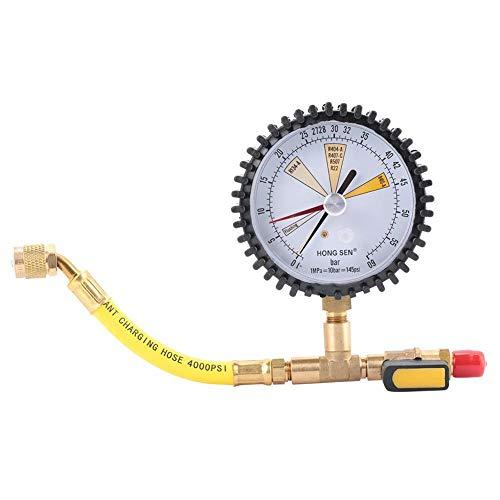 KSTE Aire acondicionado de refrigeración de nitrógeno medidor de prueba de presión Tabla Prueba de Presión