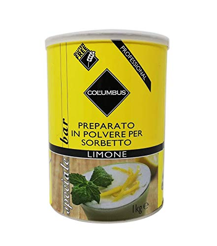Preparato in polvere per sorbetto al Limone 1 Kg