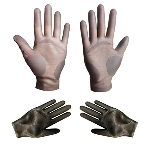 1 Pair Silicone Gloves for Epoxy Resin Casting Work Tino Kino Reusable Mitten Nitrile Gloves Finger Protectors for DIY Craft Jewelry Making Hands Protect