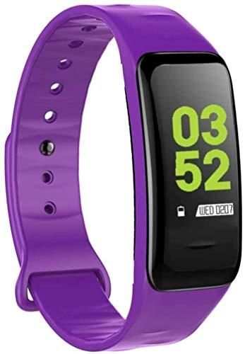JIAJBG Fitness Tracker Smart Fitness Tracker/Smart Pulsera, C1Plus Deporte Pulsera Podómetro Pedómetro Pulsera Inteligente, Pulsera para Niños Mujeres Sport Fitness Tracker Exquis