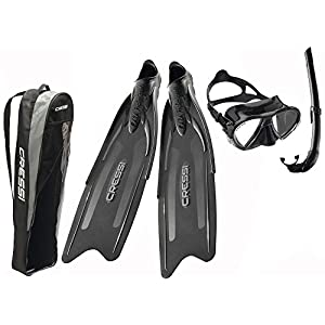 Cressi Gara Professional Ld Bag Freediving/snorkels Kit