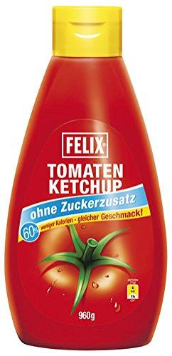 Felix Tomatenketchup ohne Zuckerzusatz - 960gr - 2x