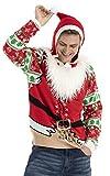 Fat Fluffy Santa Weihnachtspullover