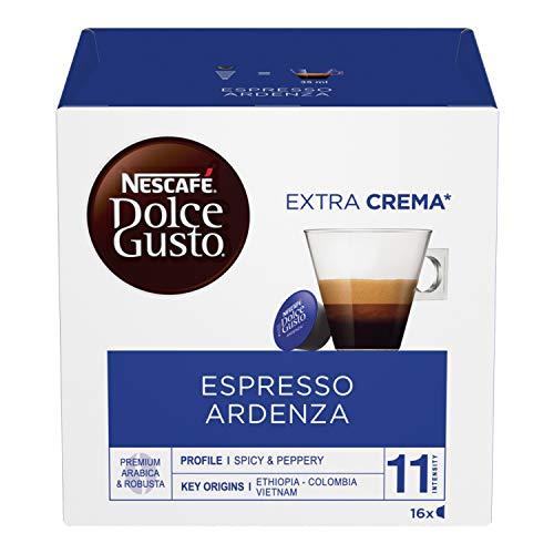 Nescafé Dolce Gusto Espresso Ristretto Ardenza, Kräftig, Kaffee, Kaffeekapsel, 16 Kapseln/Portionen