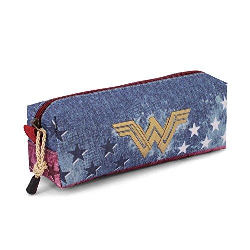 Wonder Woman Radiant Astuccio, 22 cm, Blu (Azul), poliestere