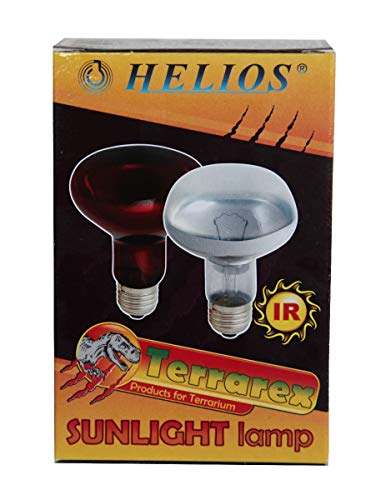 Ampoule économique Infrarouge HELIOS pour lampe chauffante, 250W, Accessoire élevage