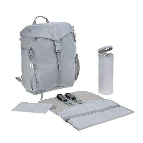 Lässig 1103026200 Green Label Outdoor Backpack grau, 850 g