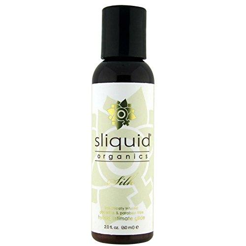 Sliquid Lubricants Organics Silk Hybrid Intimate Lubricant, 2 Fluid Ounce
