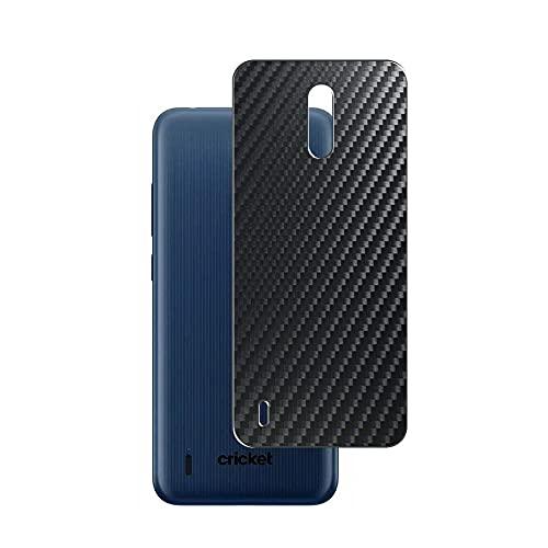 Vaxson 2 Unidades Protector de pantalla Posterior, compatible con Nokia C2 Tava, Película Protectora Espalda Skin Cover - Fibra de Carbono Negro