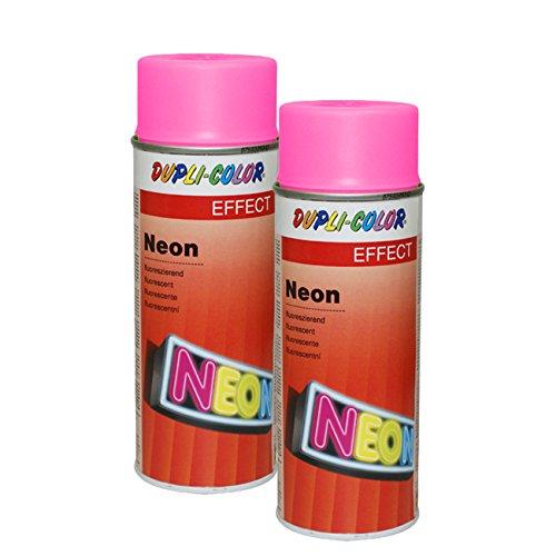 2X DUPLI-Color NEON PINK Metall Holz Glas Keramik STYROPOR Beton Stein KARTON 15