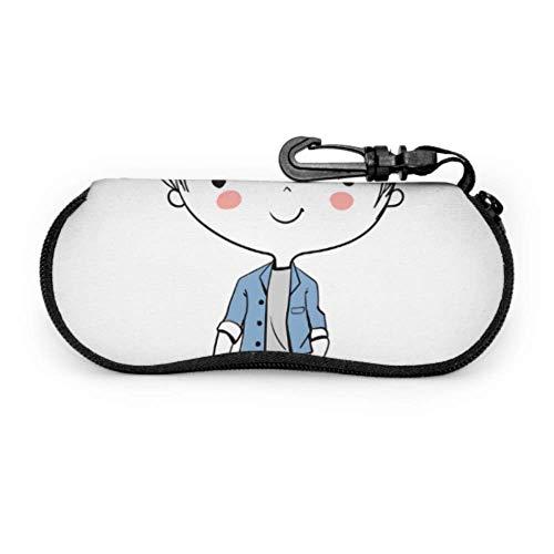 Estuche bonito y agradable para niños pequeños para gafas de sol Estuche...