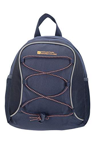 Mountain Warehouse Walklet 6L Rucksack - Reflective Details Casual Daypacks, Bottle Pockets Backpack, Bungee Cords Bag, Shoulder Straps - Best for Picnics, Outdoors Orange