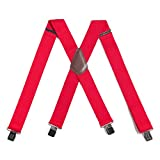 Carhartt Men's Utility Suspender, Red, One Size