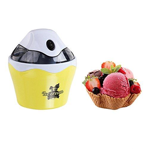 Maquina De Hacer gelati Gelatiera elettrica sorbetes minerali e yogures CASEROS 500ml 6245