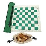 ajedrez viaje enrollable