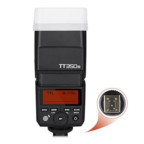 GODOX TT350N Flash Speedlite para cámara TTL para cámara Digital sin Espejo Nikon