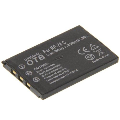 Batería para cámara Casio Exilim EX-S880 Exilim EX-Z770 NP-20 de repuesto compatible con